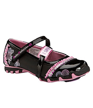 Skechers Girls Bella Ballerina: Prima Mary Jane Flats