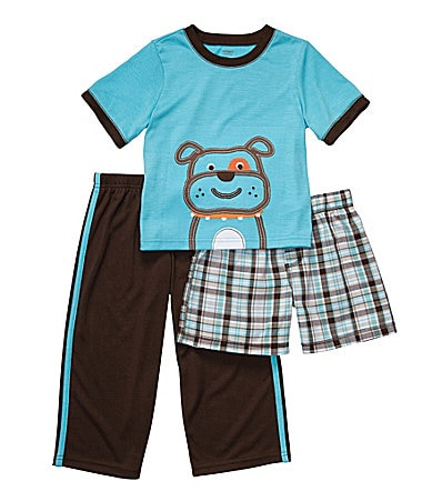 Carter�s Toddler 3-Piece Dog Pajama Set