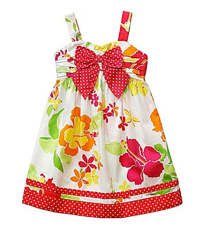 Sweet Heart Rose 2T-6X Floral Printed Sundress