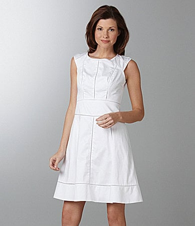 Maggy London Cap-Sleeve Dress