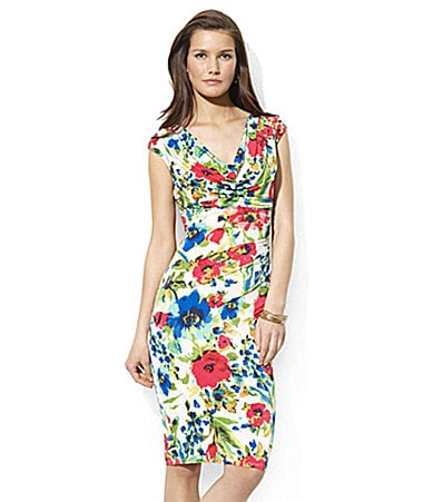 Lauren Ralph Lauren Dress Cowlneck Dress