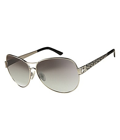 Guess Leopard Detail Aviators