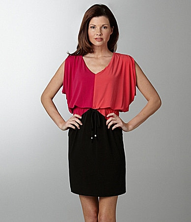 London Times Colorblock Dress