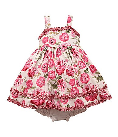Laura Ashley London Infant Rose Printed Dress