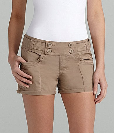 Jolt Double-Button Cuffed Shorts