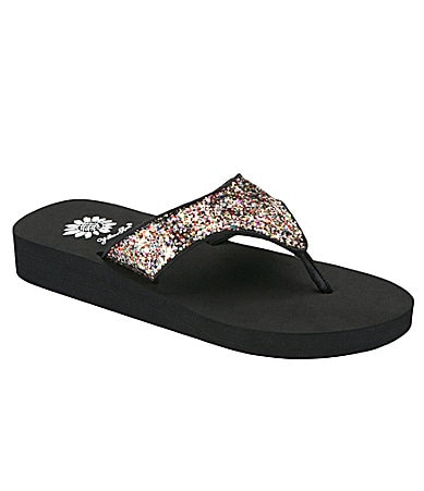 Yellow Box Lucia Flip-Flops