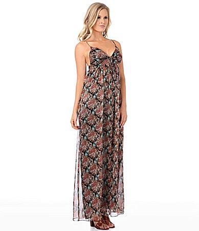 Buffalo David Bitton Ruby Floral-Print Maxi Dress