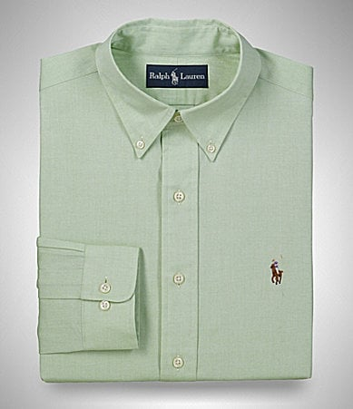 Polo Ralph Lauren Solid Button-Down Collar Dress Shirt