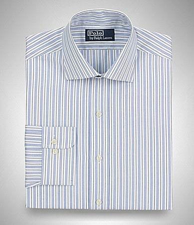 Polo Ralph Lauren Striped Regent-Collar Dress Shirt