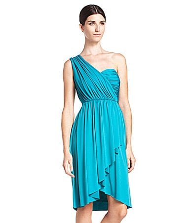 Max and Cleo One-Shoulder Jersey Dress