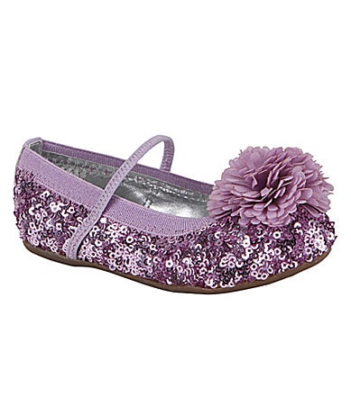 Stride Rite Girls Buffy Flats