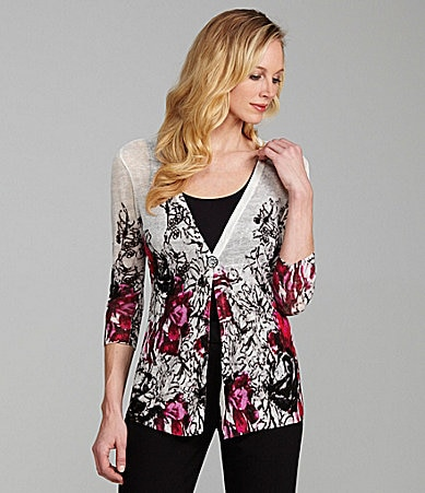 ZoZo Woman Flower Fields Cardigan
