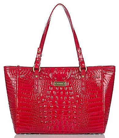Brahmin Glossy Collection Medium Arno Tote