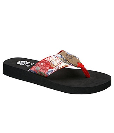 Yellow Box Davine Flip Flops