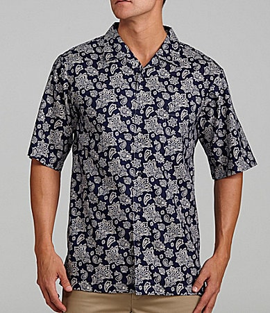 Daniel Cremieux Signature Printed Camp Shirt