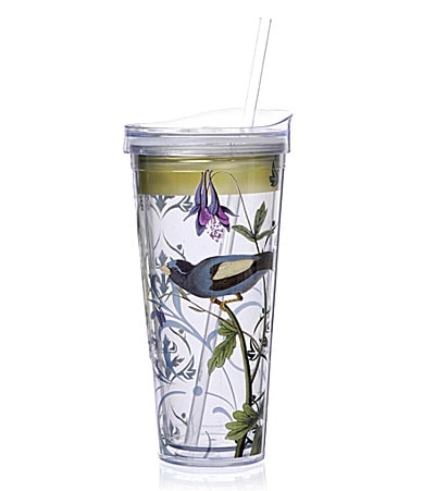 Formation Green Bird Acrylic Straw Tumbler
