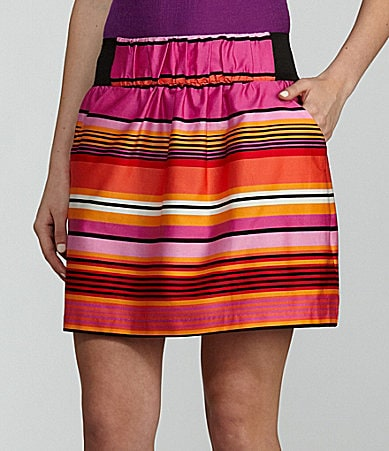 I.N. San Francisco Variegated Stripe Skirt