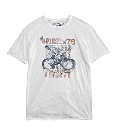 Lucky Brand Jeans The Spirit of �76 Tee