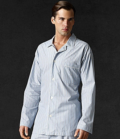 Polo Ralph Lauren Bridgeport Striped Pajama Shirt