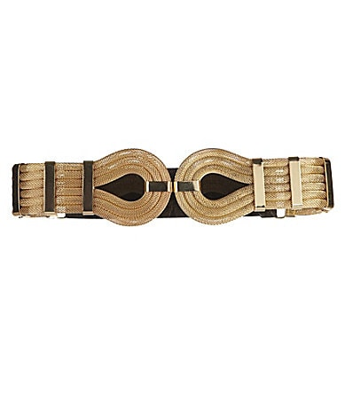 Tre Vero Snake Chain Stretch Belt