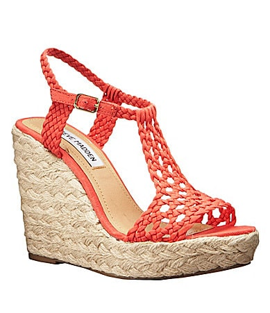 Steve Madden Manngo Wedge Sandals