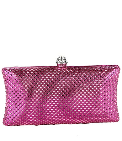 Kate Landry Studded Clutch