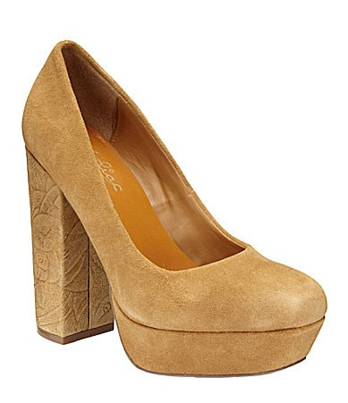 Zodiac USA Diva Platform Pumps