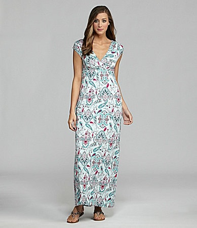 Half Moon Eclipse by Modern Movement  Lounge Maxi Dress
