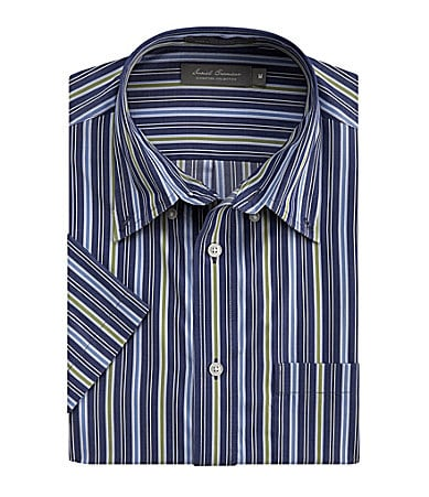 Daniel Cremieux Signature Multi Striped Sportshirt