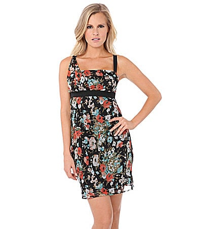 Buffalo David Bitton Achelle Floral Print Dress