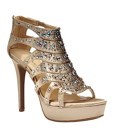 Gianni Bini Glamazon Platform Sandals