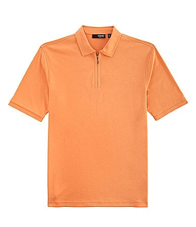 Murano Liquid Luxury Half-Zip Polo Shirt