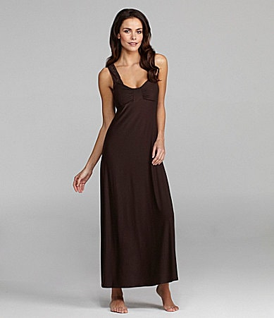 Half Moon By Modern Movement Crochet-Strap Loungewear Maxi Dress