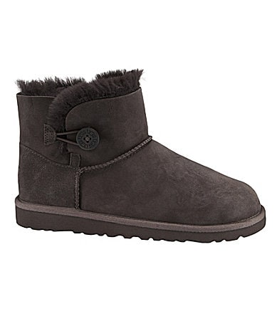 UGG Australia Girls' Bailey Button Boots