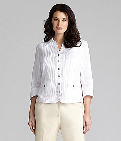 Alex Marie Woman Renee Linen Blouse