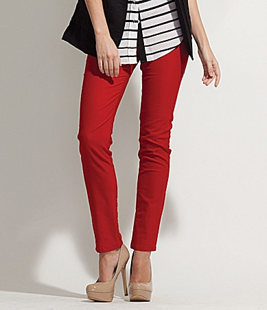Karen Kane Colored Skinny Jeans