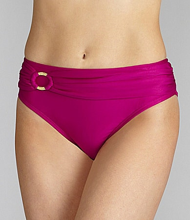 Antonio Melani Swim Solid Sash Bottom