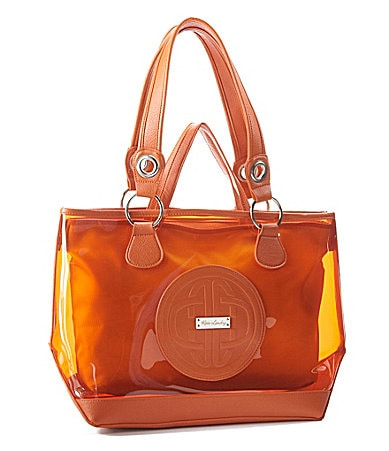 Kate Landry Logo Clear Tote