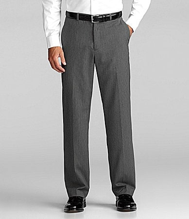 Perry Ellis Pin-Stripe Dress Pants