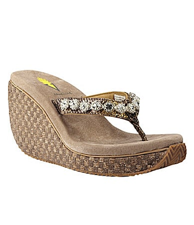 Volatile Commitment Wedge Sandals