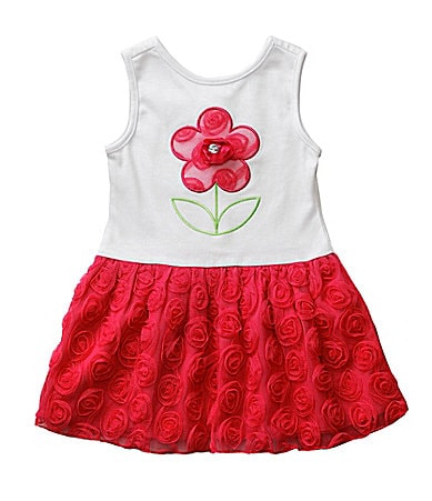 Sweet Heart Rose Toddler Rosette Dress