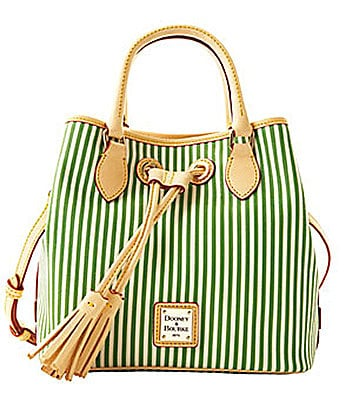 Dooney & Bourke Small Handle Drawstring Tote
