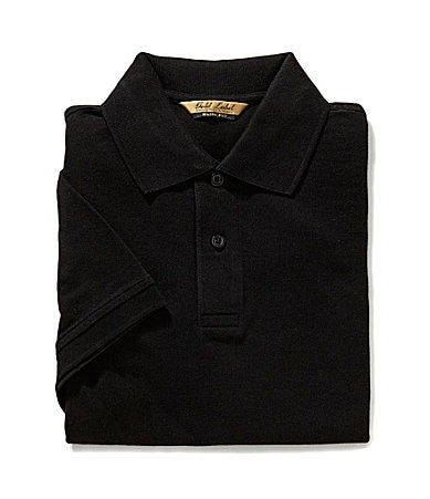 Roundtree & Yorke Gold Label Slim-Fit Solid Pique Polo Shirt