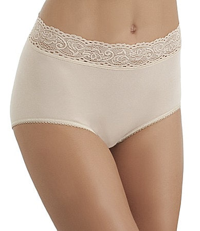 Wacoal Cotton Suede Brief Panty