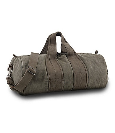 Polo Ralph Lauren Canvas Barrel Duffel Bag
