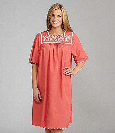 Go Softly Patio Floral Embroidery Patio Dress