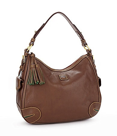 Dooney & Bourke Florentine Side Pocket Hobo