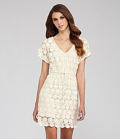 Willow & Clay Lace X-Back Dress