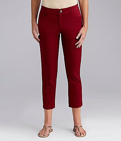 Intro Cropped Stretch-Twill Pants