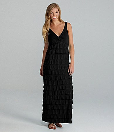 I.N. Studio Petites Ruffle Maxi Dress